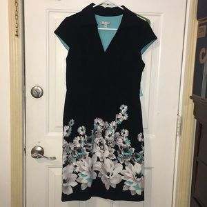 Sandra Darren Women's Dress SZ 8 🦋💋💥💃🏻👗